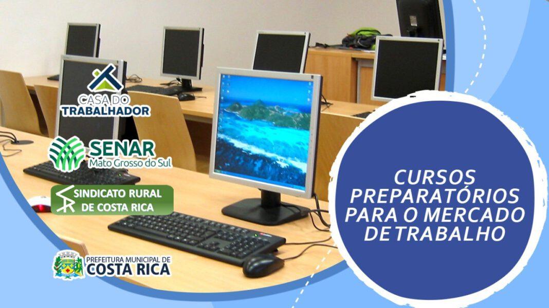 Costa Rica terá Curso de Informática Básica com duração de 32 horas na Casa do Trabalhador de 19 a 22 de abril