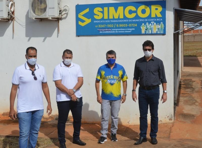 Momento da visita ao SIMCOR. Angela Bezerra/Silvestre de Castro – ASSECOM/PMCR. Foto: Gustavo Pelicano – ASSECOM/PMCR