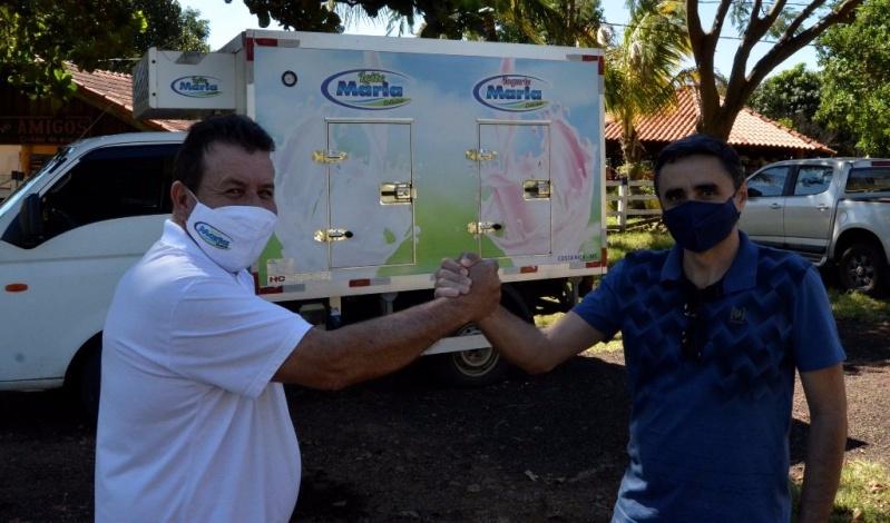 Guedinho foi o primeiro empresário rural a receber o selo SIMC-Cointa em Costa Rica